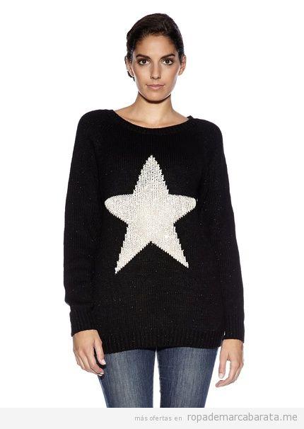 Jersey de invierno con una estrella marca La Belle Parisienne barato