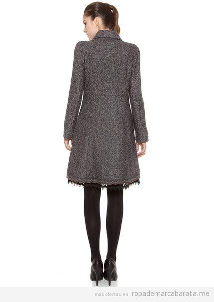 Abrigo barato marca poupée chic, otoño invierno