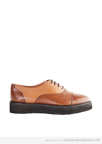 Zapatos creepers de la marca Springfield baratos