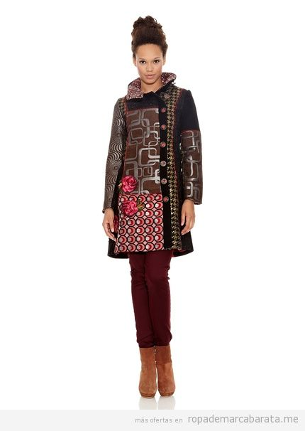 Abrigo barato marca Desigual modelo Dasha