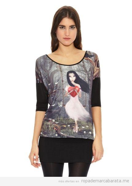 Camiseta bonita de la marca Milles barata