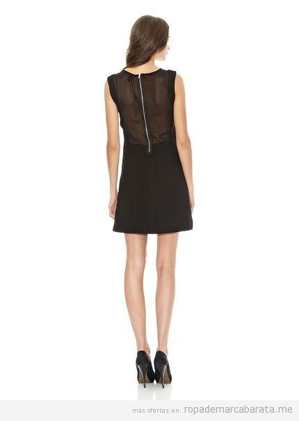 Vestido negro corto de Mango barato, comprar online