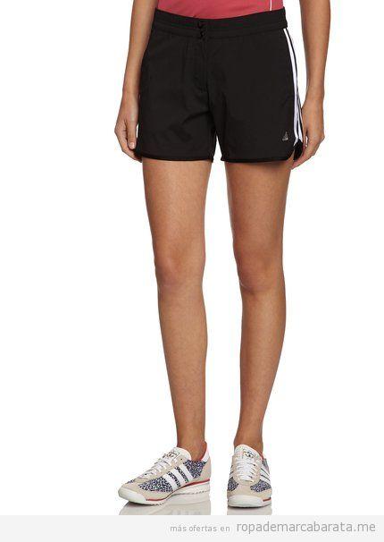 Comprar online pantalones deporte cortos Adidas mujer baratos