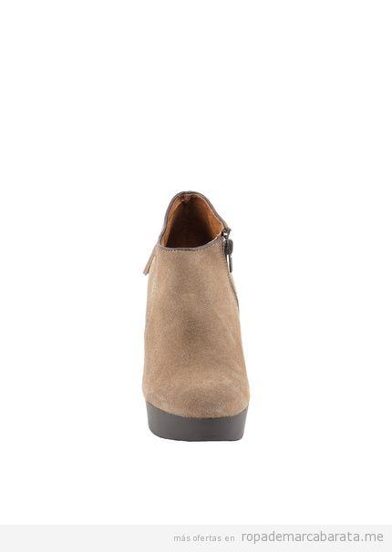Comprar online botines de tacón de la marca Liberitae con borlas, baratos outlet