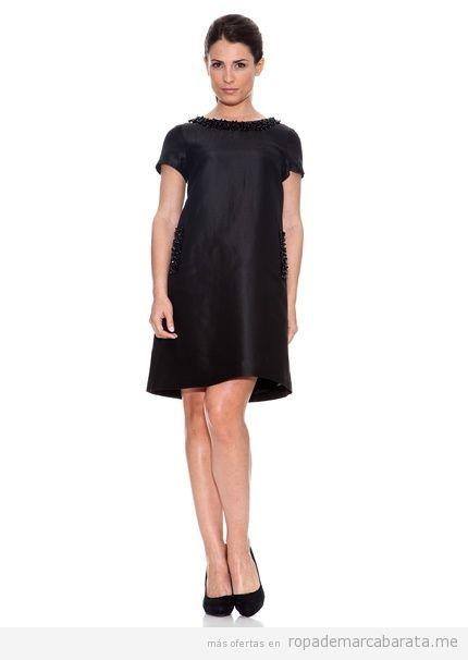 Vestido negro de la marca Carmelo, outlet, comprar online