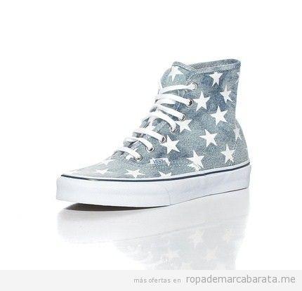 Zapatillas marca Vans con estrellas, comprar online baratas 2