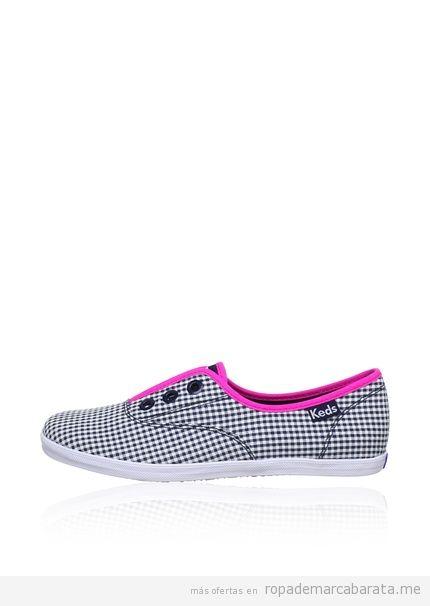 Zapatillas cuadros chica marca Keds baratas comprar online
