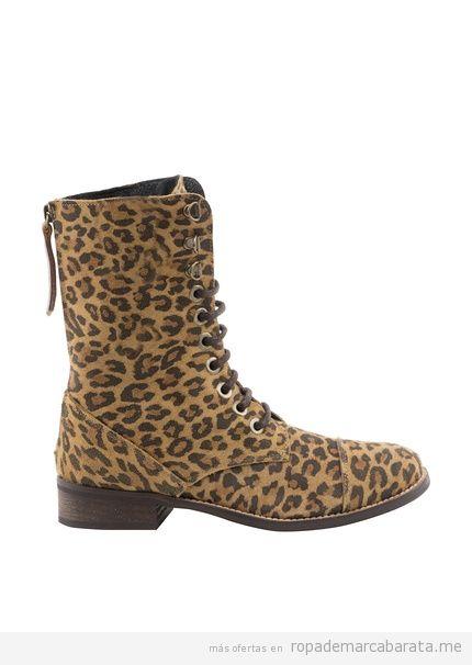 Botas mujer print Leopardo de la marca Misu baratas