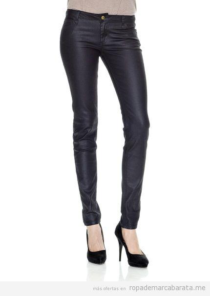 Pantalones satinados marca Naf Naf baratos, comprar online