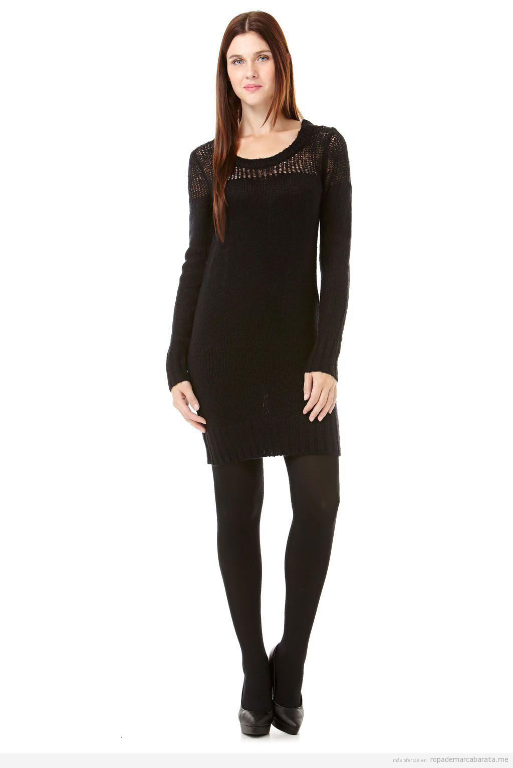 Vestido de punto marca Folia barato, comprar outlet online