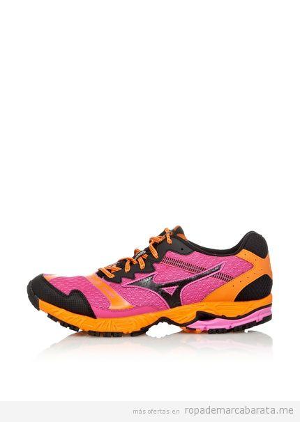 Zapatillas deportivas mujer de running marca Mizuno baratas, comprar outlet online