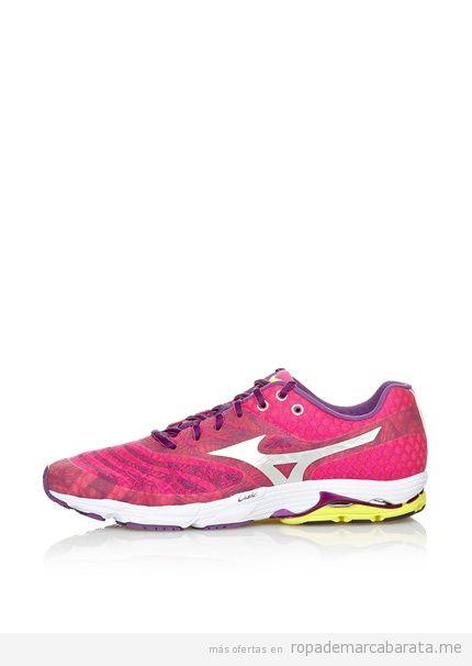 Zapatillas deportivas running marca Mizuno baratas, comprar outlet online