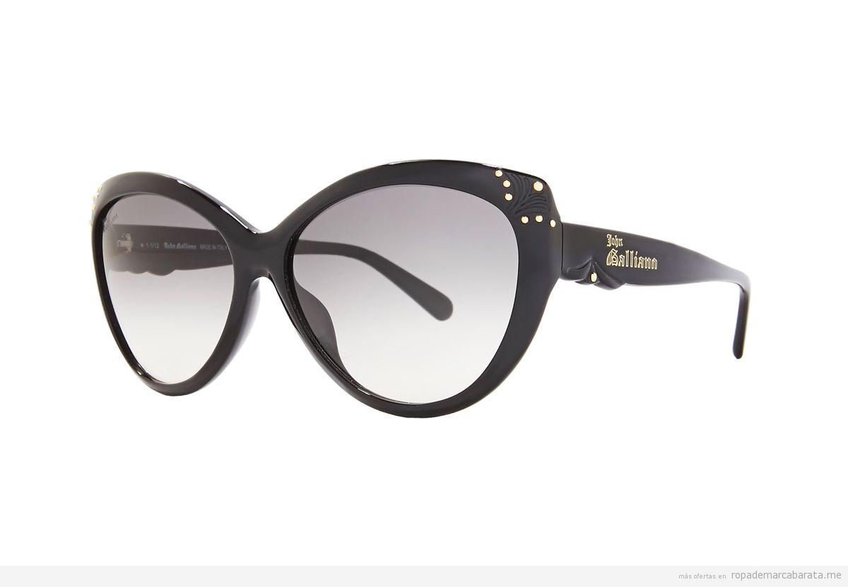 Gafas sol marca Galliano baratas, comprar outlet online
