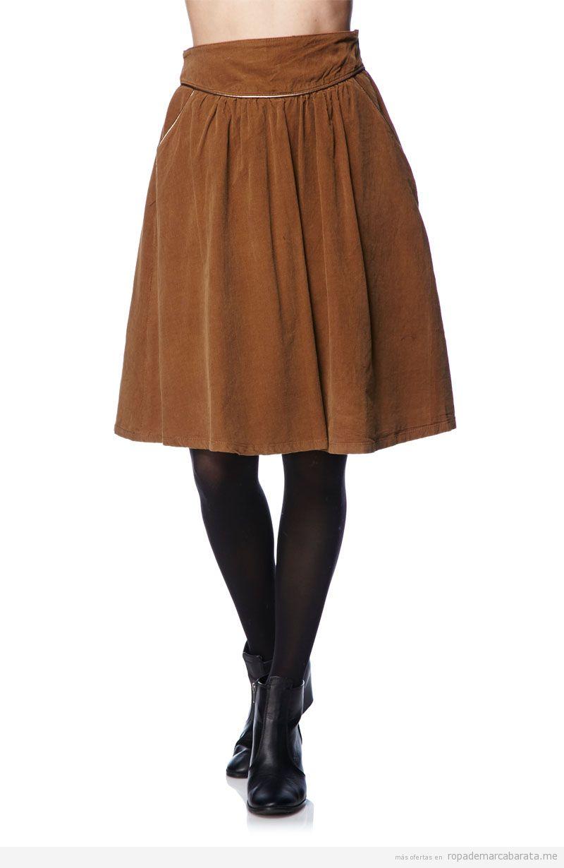 Falda marca Version sud barata, comprar outlet online