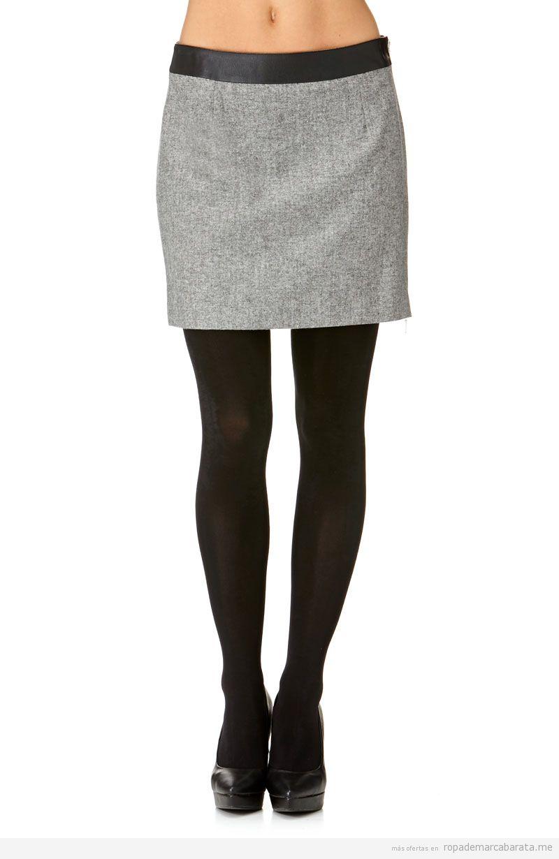 Falda marca Lauren Vidal barata, comprar outlet online