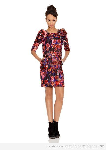Vestido marca Desigual barato, comprar outlet online