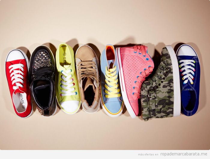 Zapatillas deportivas mujer marca Tout pour toi, comprar outlet online