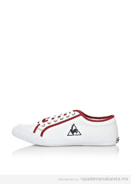 Zapatillas mujer marca Le Coq Sportif baratas, outlet online 3
