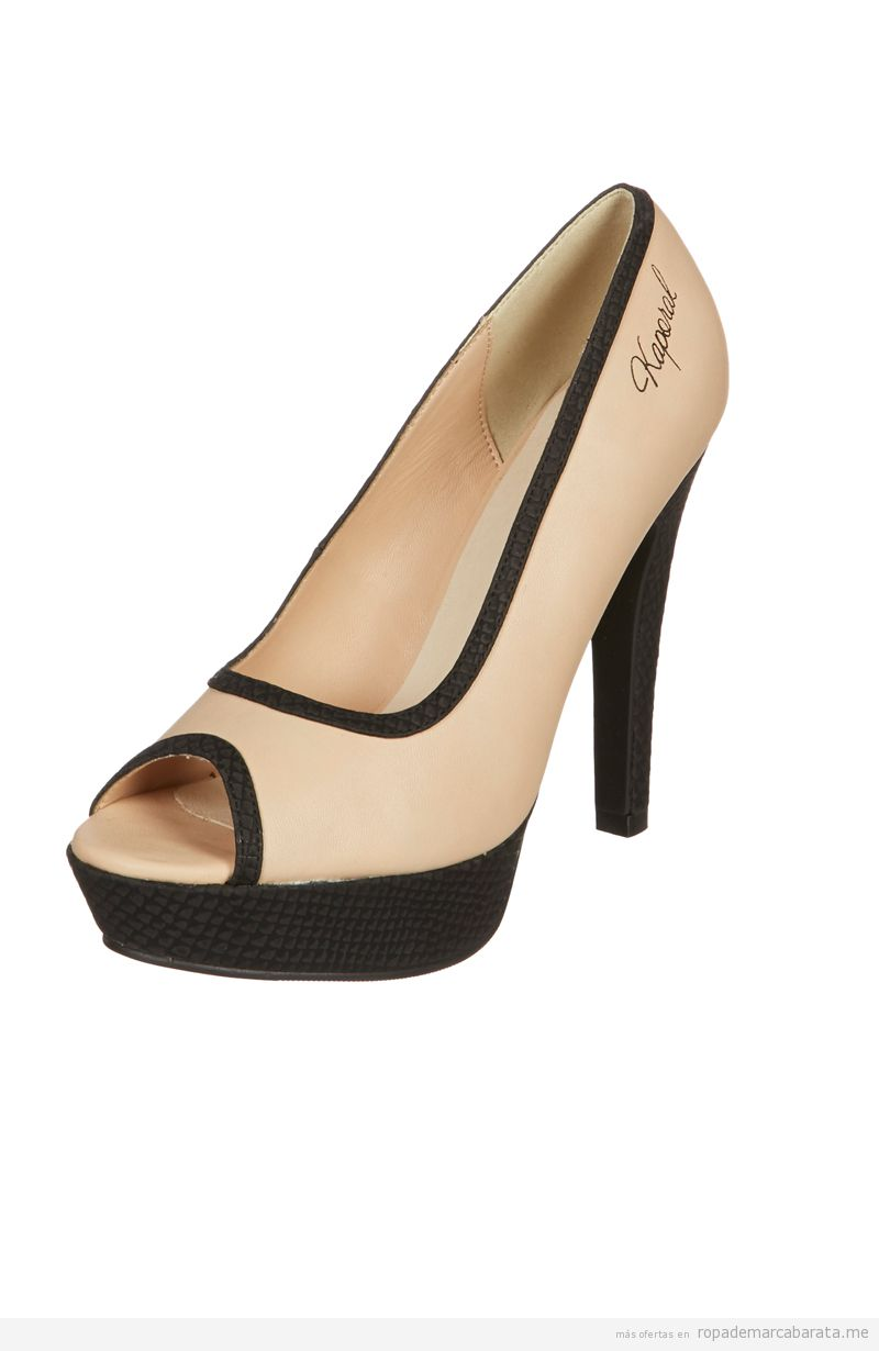 Zapatos Peep Toes baratos marca caporal, comprar oulet online