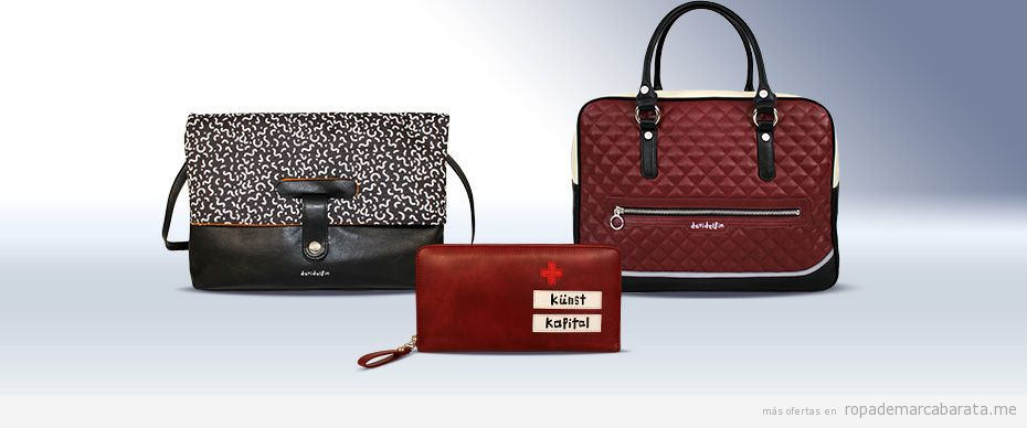 c6fbcbbad Bolsos marca diseñador David Delfín baratos, comprar outlet online