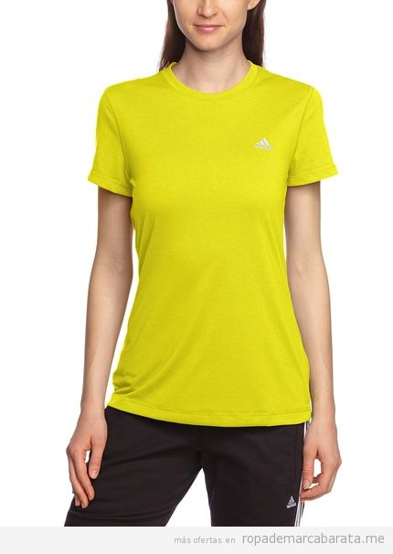 Camiseta  marca Adidas mujer barata, comprar outlet online