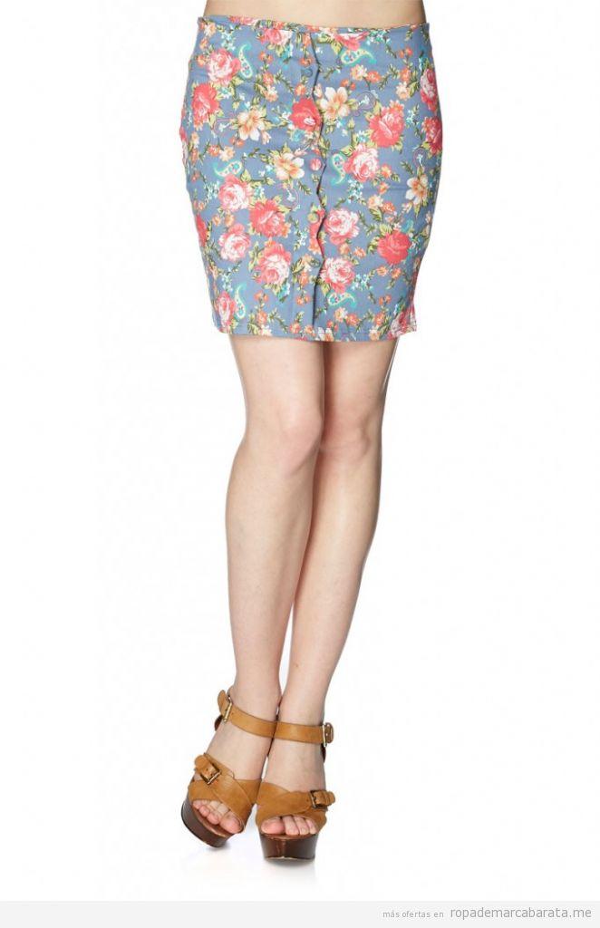 Falda barata primavera marca Azura, comprar outlet online
