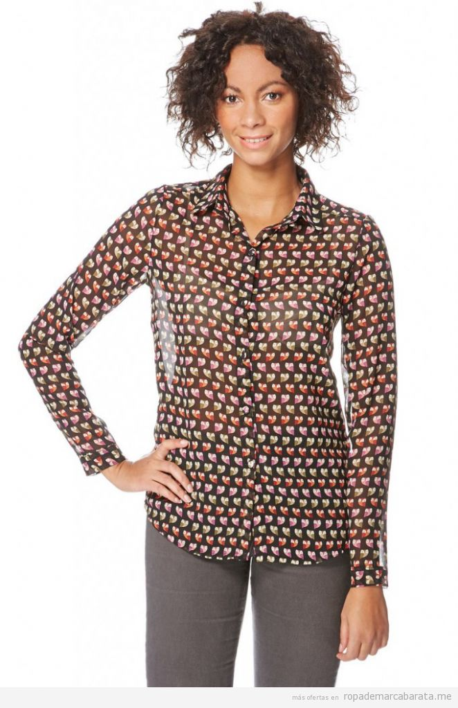 Camisa barata primavera marca Azura, comprar outlet online