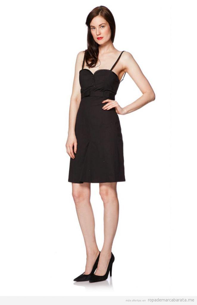 Vestido negro, Bolero, ropa mujer marca Diego Reiga, comprar outlet online