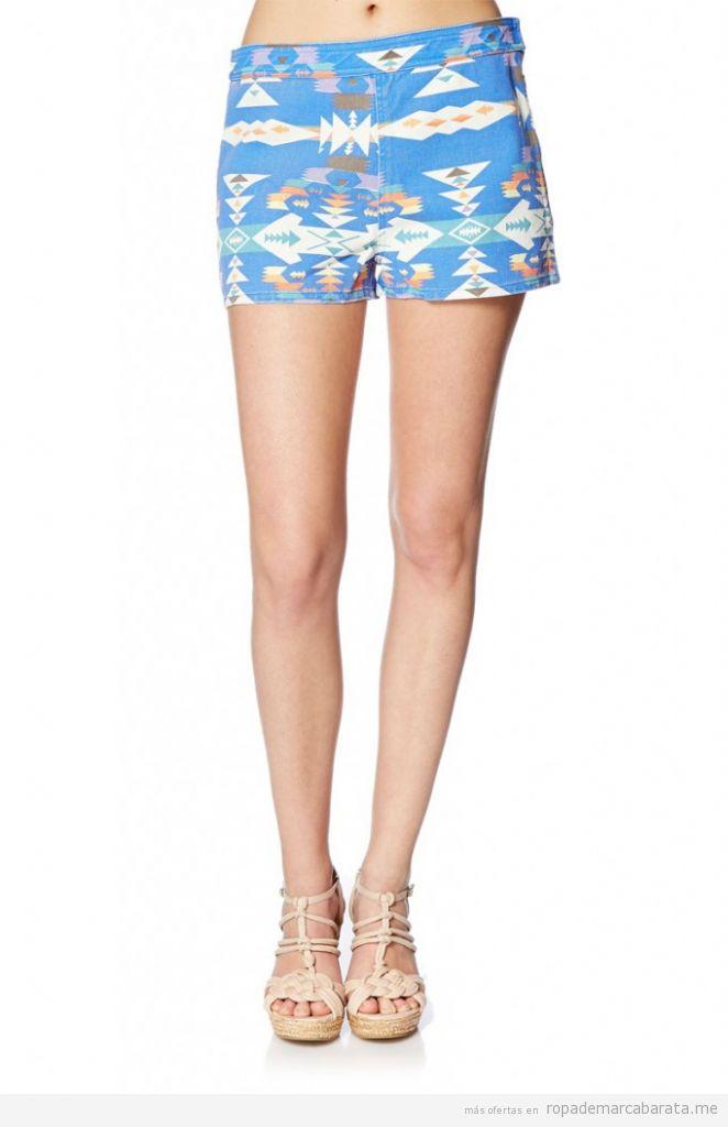 Shorts tejanos verano baratos, marca Suncoo Paris, comprar outlet online