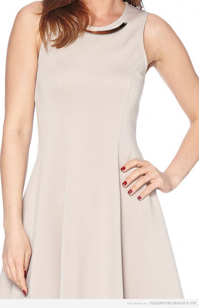 Vestido elegante mujer marca Astuces barato, comprar outlet online 3
