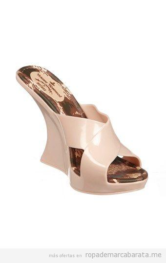 Sandalias cuña marca Melissa baratas, comprar outlet online