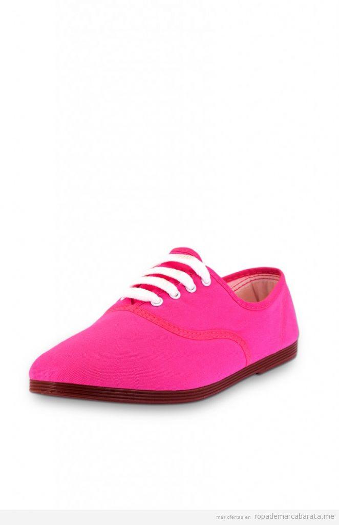 Zapatillas fucsia marca Flossy, comprar outlet online