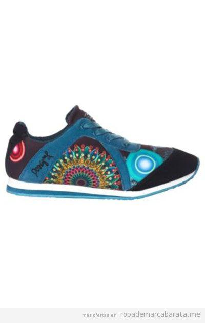 Zapatillas mujer Desigual rebajas, comprar online