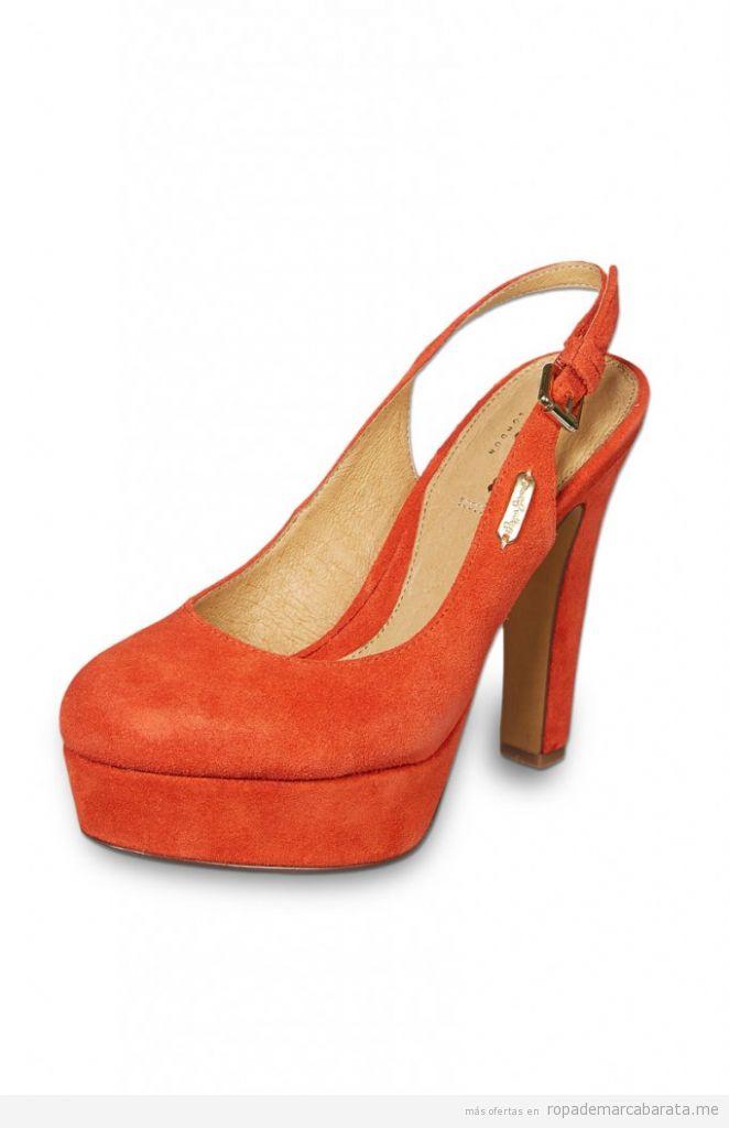 Zapatos tacón verano marca Pepe Jeans, comprar outlet online