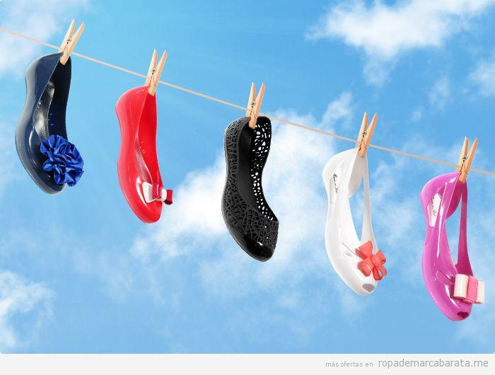Bailarinas, sandalias y botad de silicona baratas, marca Favolla, comprar outlet online