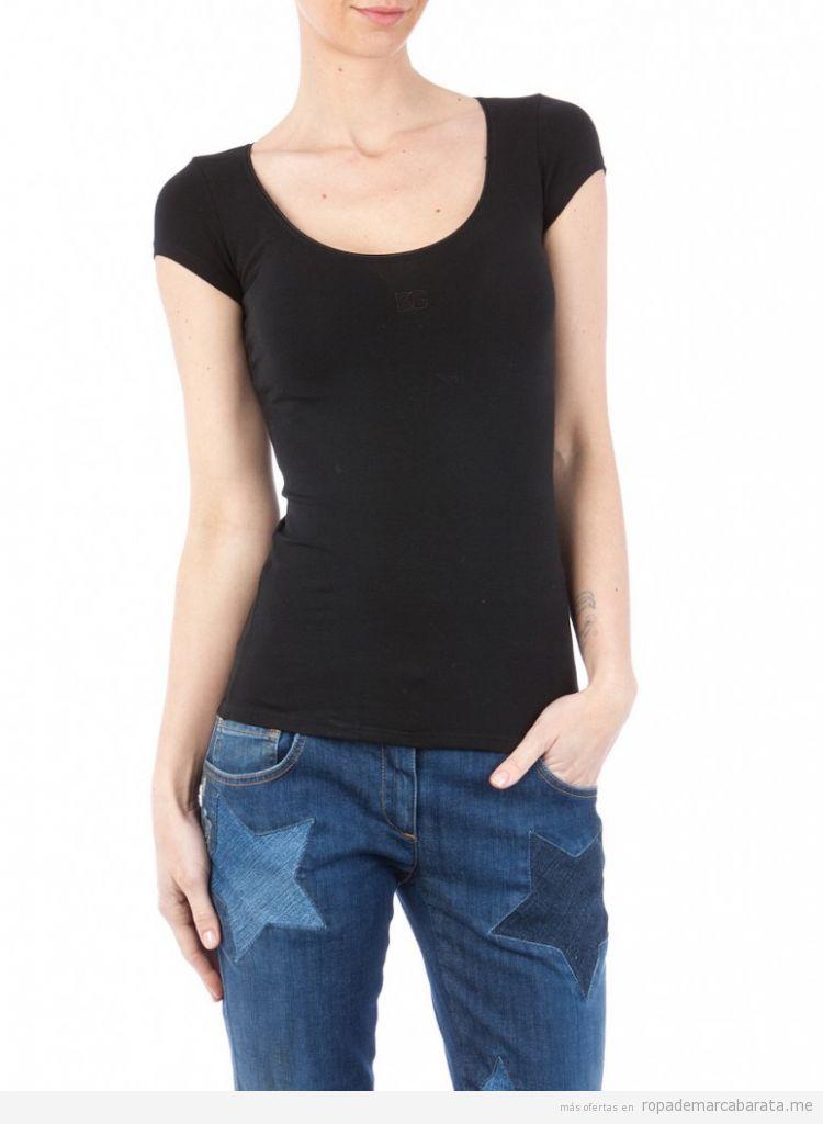Camiseta marca Dolce&Gabbana barata, comprar outlet online