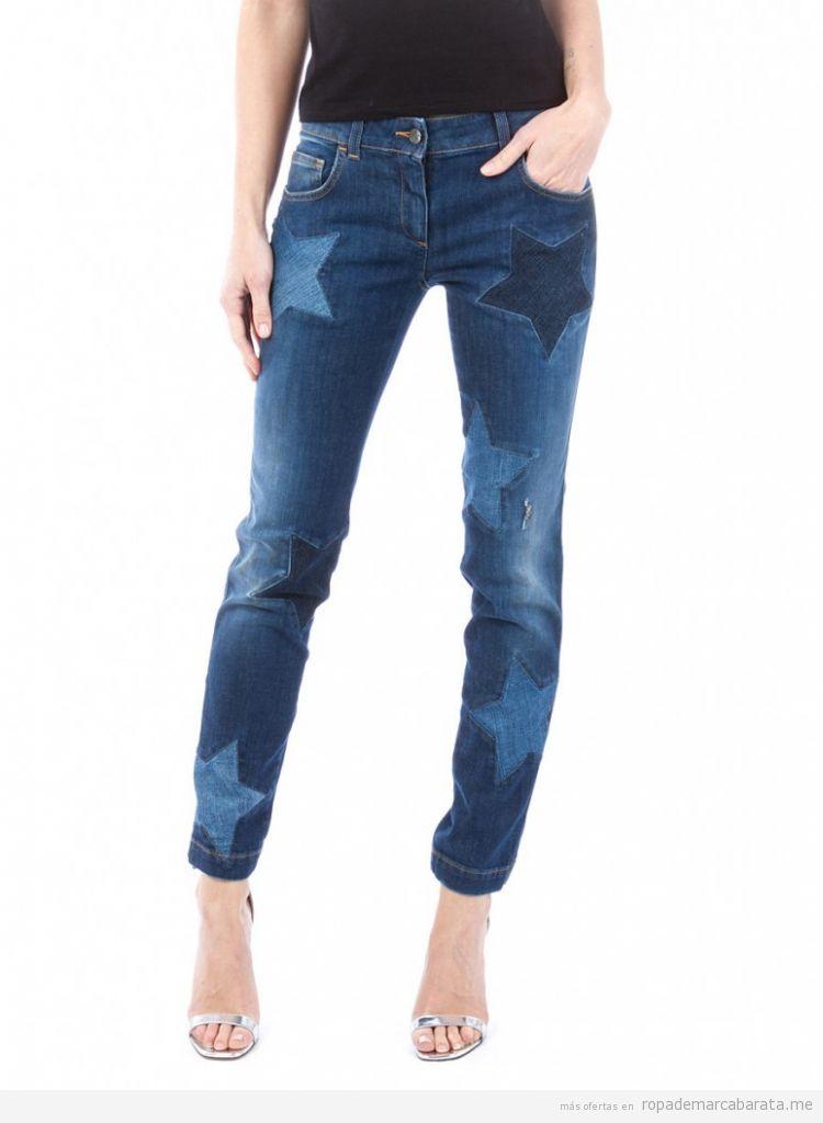 Pantalones tejanos marca Dolce&Gabbana baratos, comprar outlet online