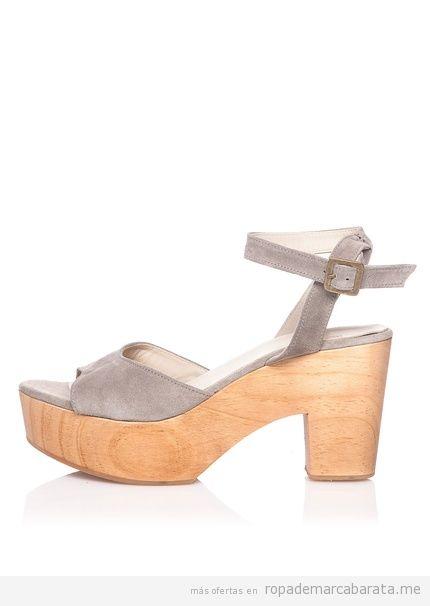Sandalias madera marca Hakei baratas, comprar outlet online