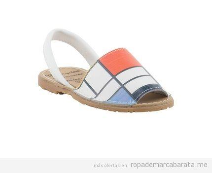 Sandalias Menorquinas originales marca Daneris baratas, outlet online 3