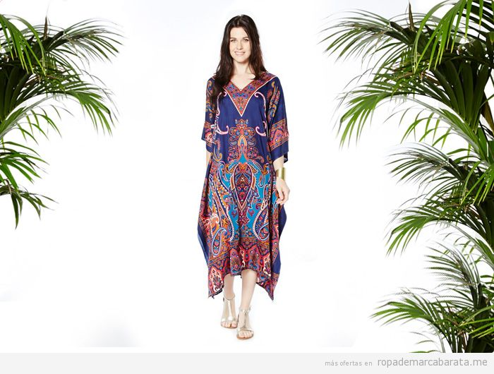 Túnica verano marca Kushi barata, comprar outlet online