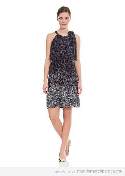 Vestido mujer elegante marca Cortefiel barato, outlet online