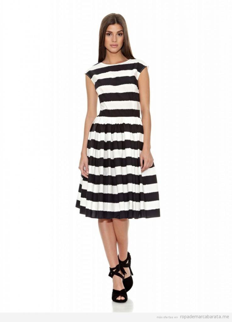 Vestidos a rayas marca Dolce&Gabbana baratos, comprar outlet online