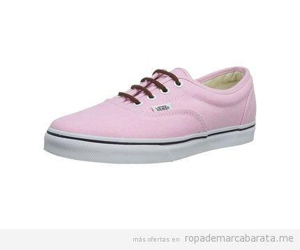 vans chica rosa