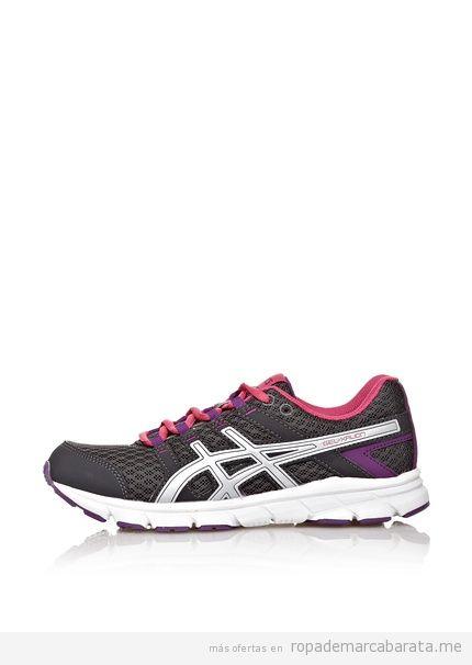 Zapatillas deportivas running mujer marca Asics baratas, outlet online
