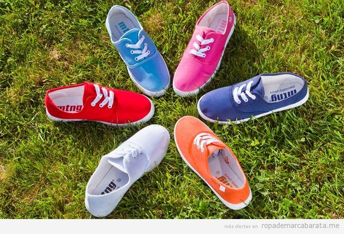 Zapatillas marca Mustang baratas, outlet online