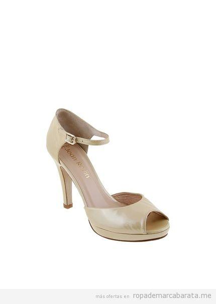 Zapatos, peep toes y sandalias baratos marca Paco Herrero, outlet online 2