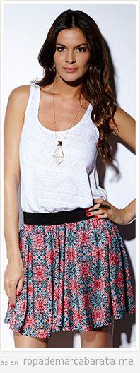 Falda verano marca Pop Soda barata, outlet online