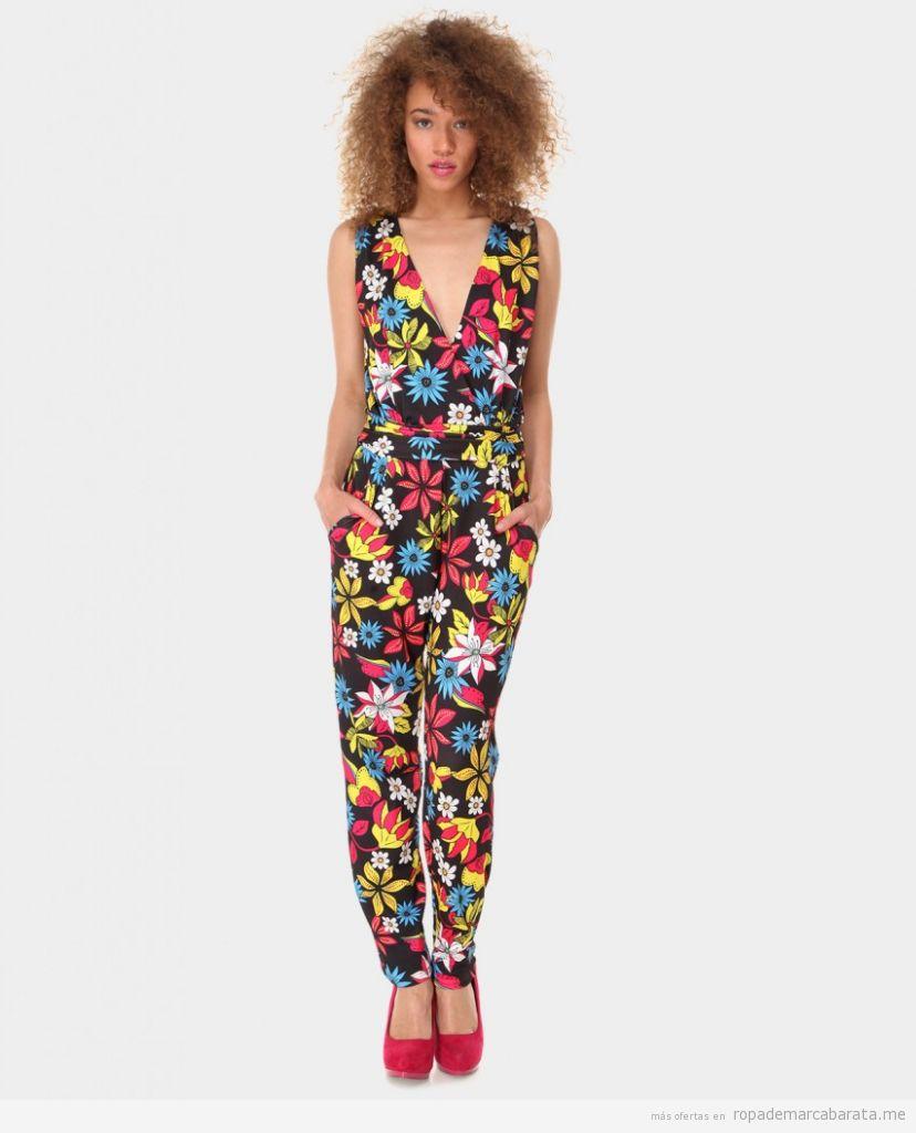 Mono largo verano marca Azura flores barato, outlet online