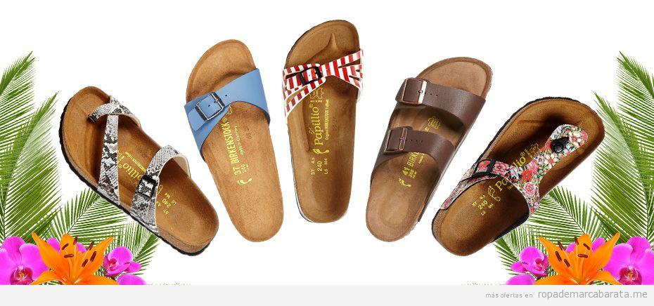 zapatos deportivos 5e66e d3daf Sandalias Birkenstock de muchos modelos, rebajas de hasta ...