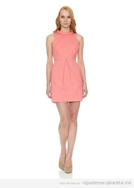 Vestidos elegantes marca Pedro del Hierro baratos, comprar outlet online 3